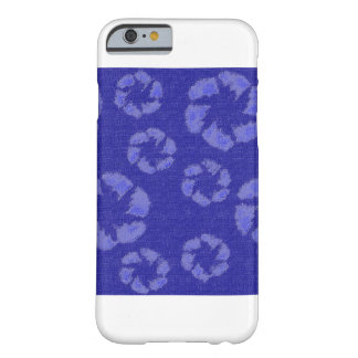 Zappy Blue Flowers iPhone 6/6s Case