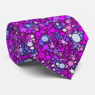 Zappy Bubbles,pink Tie