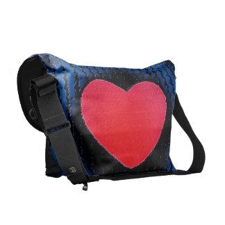 Zappy Heart Bags Messenger Bag