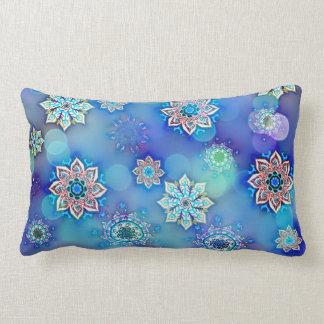 zappy mandala lumbar pillow