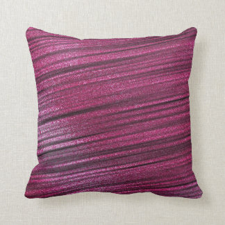 zappy sparkling stripes throw pillow