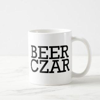 Zar de la cerveza taza básica blanca