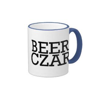 Zar de la cerveza taza a dos colores
