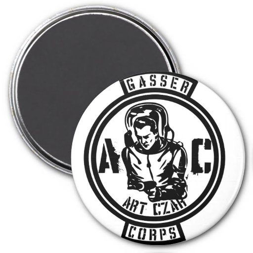 Zar del arte - cuerpo #3 de Gasser - imán de encar