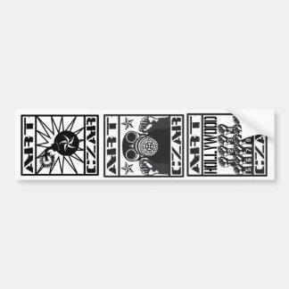 Zar del arte - pegatina para el parachoques #2 de  etiqueta de parachoque