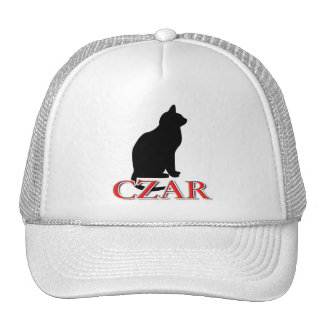 Zar del gato gorras