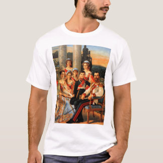Zar Nicolás II y familia Playera