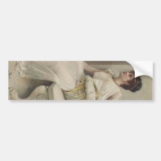 Zara, A Dancing Girl by Frank Markham Skipworth Bumper Sticker