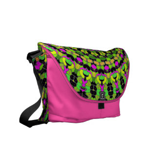 Zara Pink Kaleidoscope Messenger Bag