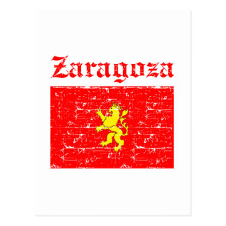 Zaragoza City Designs Postcard