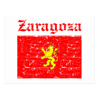 Zaragoza City Designs Postcard