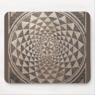 Zaragoza Salduba Geometric Mosaic Mouse Pad