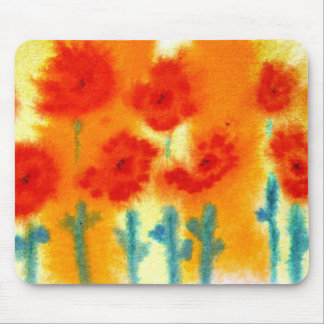 zarathustras flowers...art by Jutta Gabriel... Mouse Pad