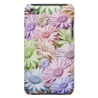 Zaraza en colores pastel del Gerbera floral iPod Touch Carcasa