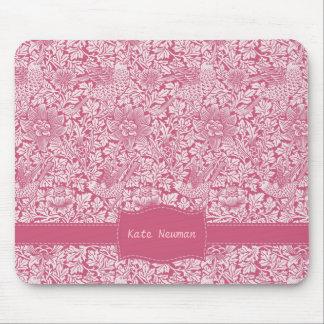 Zaraza rosada de encargo tapetes de raton