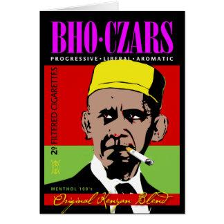 Zares de BHO, cigarrillos preferidos del Kenyan de Tarjeta De Felicitación