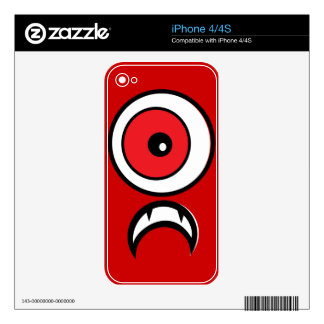 Zark Decals For iPhone 4