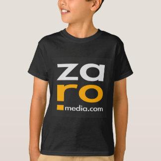ZARO Logo Merchandise in Black T-Shirt