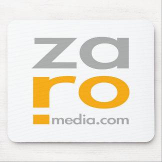 ZARO Logo Merchandise in White Mouse Pad