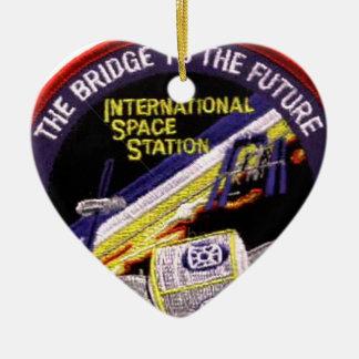 Zarya-Unity Modules of the ISS Ceramic Ornament