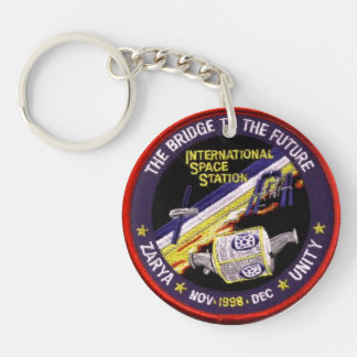 Zarya-Unity Modules of the ISS Keychain
