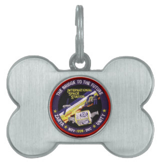 Zarya-Unity Modules of the ISS Pet Name Tag
