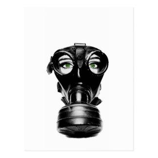 ZAS_Green_Eyed_Gas_Mask_1_POSTER.jpg Postcard