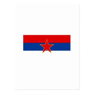 Zastava Crne Gore, bandera de Montenegro Postal