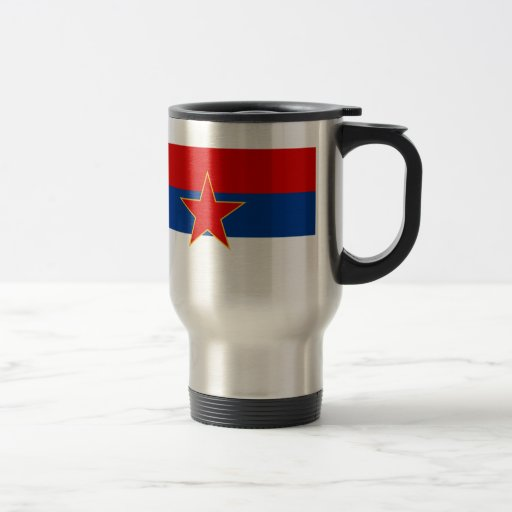 Zastava Crne Gore, bandera de Montenegro Taza De Viaje De Acero Inoxidable