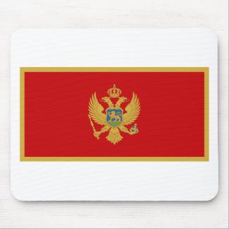 Zastava Crne Gore Montenegro flag Mouse Pads