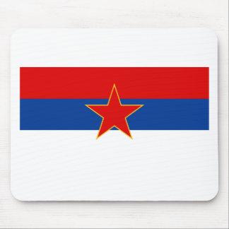 Zastava Crne Gore Montenegro flag Mousepads