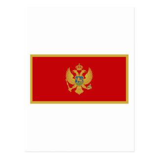 Zastava Crne Gore, Montenegro flag Post Cards