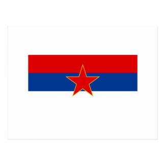 Zastava Crne Gore, Montenegro flag Postcards
