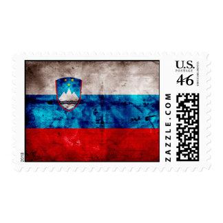 Zastava Slovenije Postage