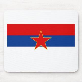 Zastava Srbije Serbian flag Mousepads
