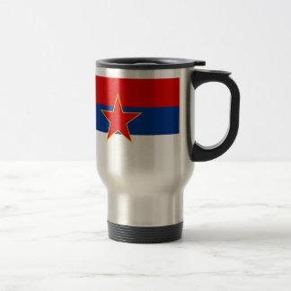 Zastava Srbije Serbian flag Coffee Mug