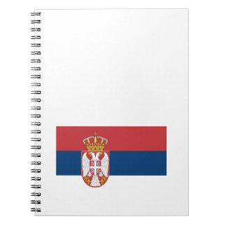 Zastava Srbije Serbian flag Spiral Notebook