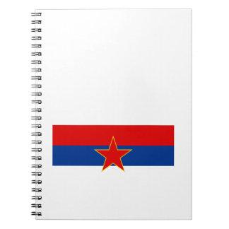 Zastava Srbije Serbian flag Note Books