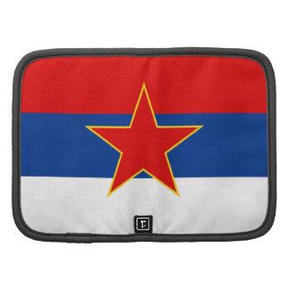 Zastava Srbije Serbian flag Folio Planner