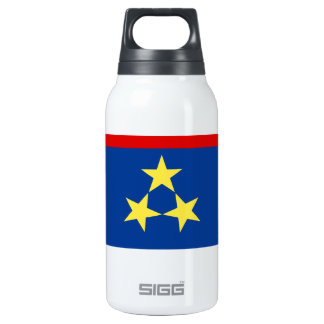 Zastava Vojvodine, Vojvodina flag Insulated Water Bottle