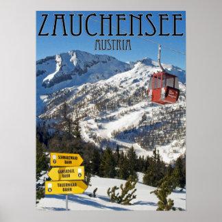 Zauchensee Ski Area 18x24 Poster