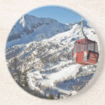 Zauchensee Ski Resort Drink Coaster