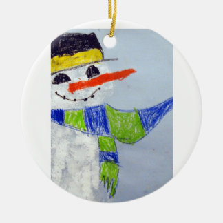 Zayd Dixon Ceramic Ornament