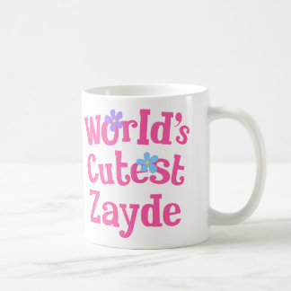 Zayde Gift Idea For Her (Worlds Cutest) Coffee Mug