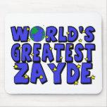 Zayde más grande del mundo tapetes de ratones