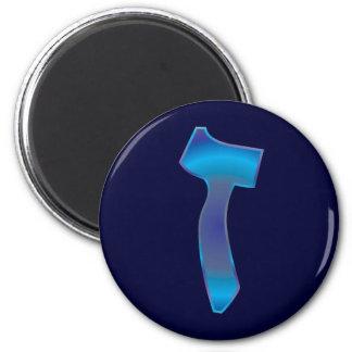 Zayin 2 Inch Round Magnet