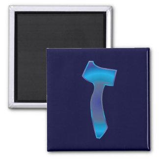 Zayin 2 Inch Square Magnet