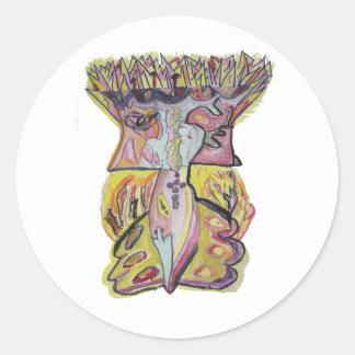 Zayin Classic Round Sticker
