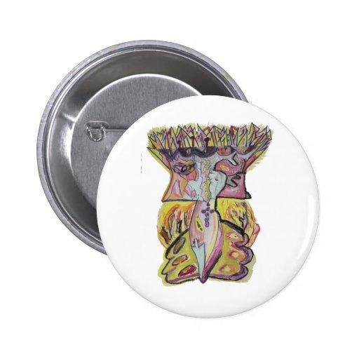 Zayin Pinback Button