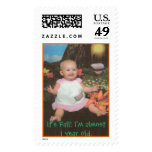 Zaylynn Jade, It's Fall! I'm almost 1 year old. Postage